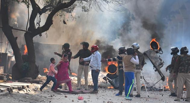 The Delhi violence was among the most disturbing episodes in recent years in India. Parliament is the ideal forum to discuss such issues, for they go to the heart of the flaws in India's governance systems and social relations(Raj K Raj/HT PHOTO)