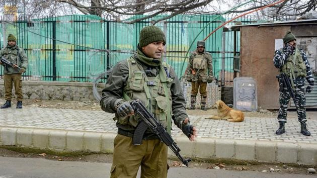 Kashmir's special police officer, civilian killed in Sopore terror attack.(PTI)