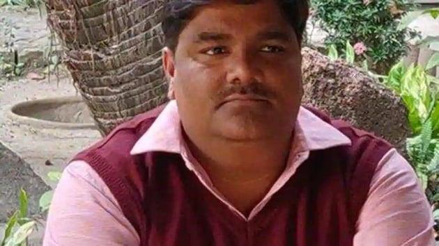 Suspended AAP leader Tahir Hussain(Twitter/@tahirhussainaap))