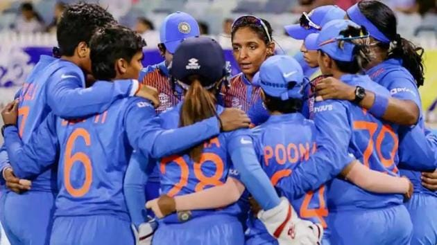 India women's cricket team advanced to the finals of T20 World Cup for the first time after the semi-final against England was washed out.(PTI)