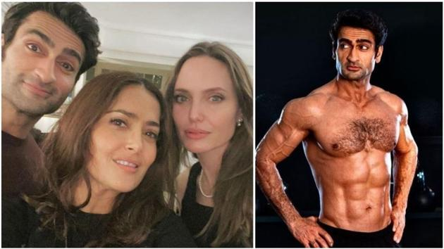 Kumail Nanjiani will be seen with Salma Hayek, Angelina Jolie and others in The Eternals.