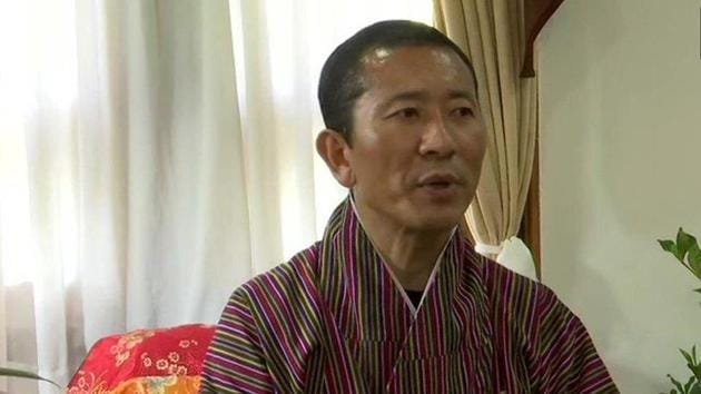 Bhutan Prime Minister Lotay Tshering announced on Friday that an American tourist who entered from India has tested positive for coronavirus.(ANI Photo)