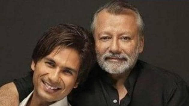 Pankaj Kapur and son Shahid Kapoor will be seen together in Jersey.