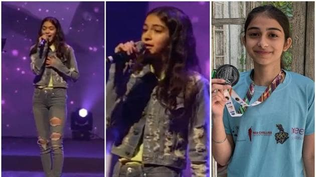 Ananya Panday's sister Rysa performs the late Amy Winehouse's hit, You Know I'm No Good.