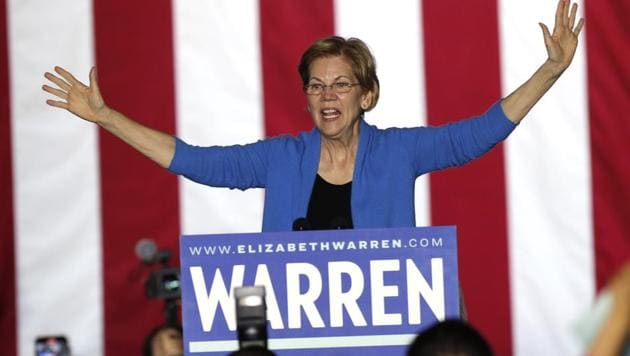 Elizabeth Warren dropped out of the Democratic presidential race on Thursday.(Reuters File Photo)