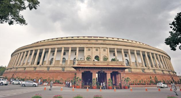 Parliament will restrict the movement of visitors and their entry when it reassembles after Holi on March 11(Hindustan Times)