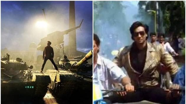 Riteish Deshmukh shared a funny picture of himself imitating Ajay Devgn from the latter's 1991 film, Phool Aur Kaante.(Instagram)