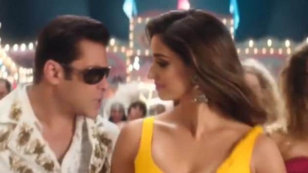 Salman Khan and Disha Patani worked together for the first time in Bharat.