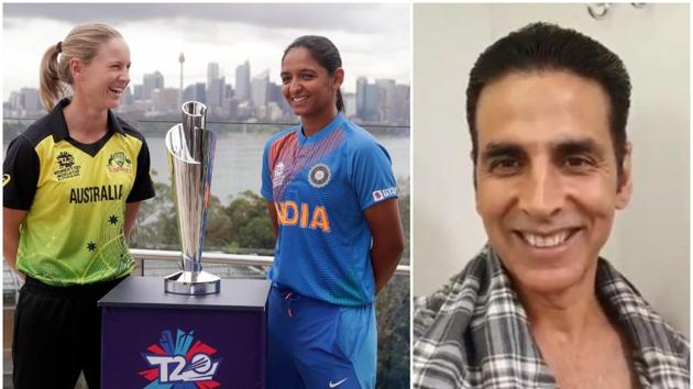 Akshay Kumar wished the Indian team and their skipper ahead of T20 World Cup finals.(PTI/ITwitter)