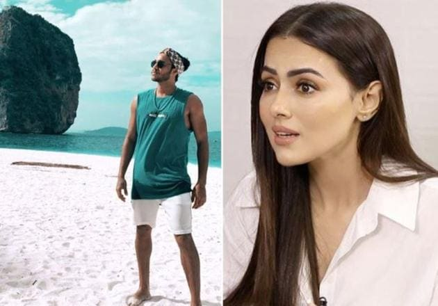 Sana Khan in February this year had confirmed that Melvin Louis and she had broken up.(Instagram)