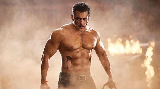 Salman Khan in his last release Dabangg 3.(Instagram)