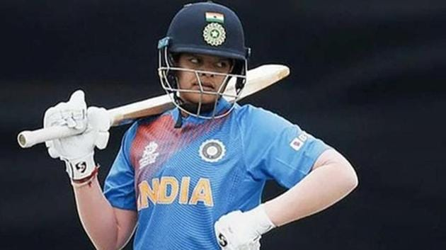 Shafali Verma in action during the Women's T20 World Cup.(Twitter)