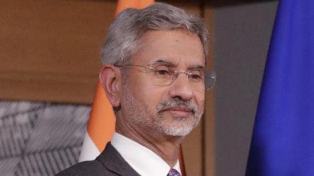 India's foreign minister S Jaishankar, Brussels, February 17, 2020(AP)