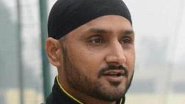 File image of Harbhajan Singh(AFP)