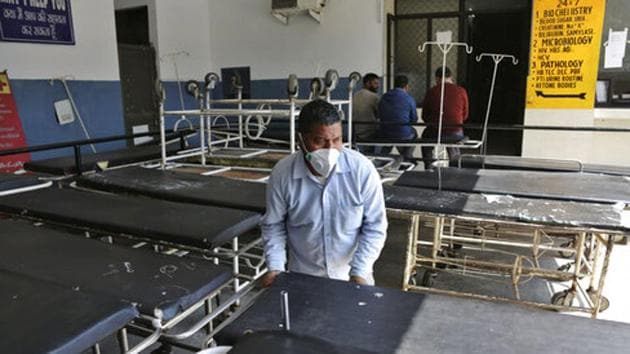 Both the quarantined patients had a history of travelling to coronavirus-hit countries. They had returned from Iran. (Image used for representation).(AP PHOTO.)