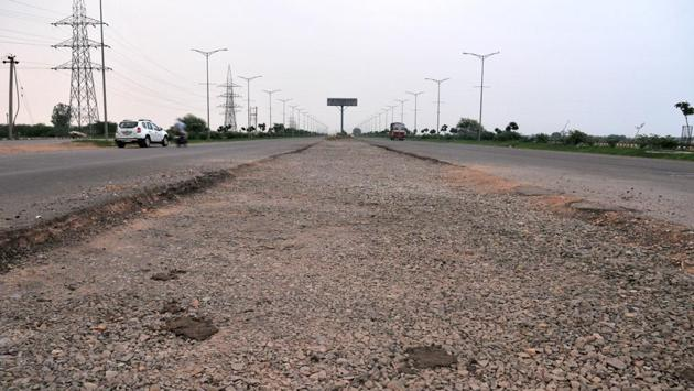 The 6-km stretch between Airport Chowk and the Banur-Landran road was opened in 2015, but peeled off within six months, leading to its closure and prompting vigilance inquiry.