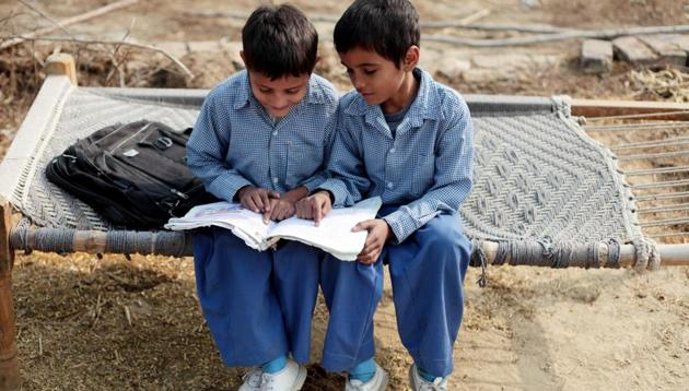 Data for the study was collected from 108 children, aged between six and eight years, from two village schools at Kheri and Samlehri in Haryana between July 2012 and June 2013. The researches visited their houses in the villages to find out the level of indoor pollution. (Image used for representation).(GETTY IMAGES.)