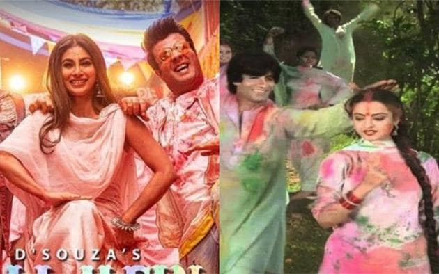 Mouni Roy has come up with a Holi special song with Remo D'Souza.