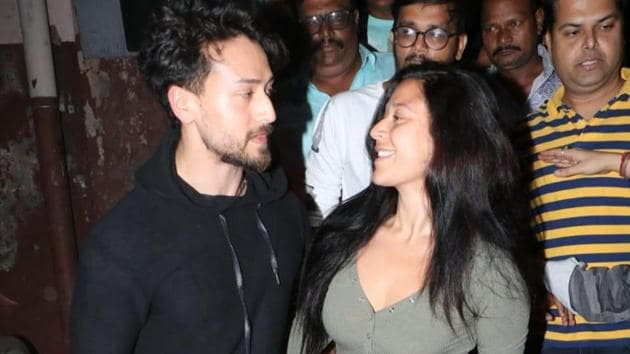 Tiger Shroff watches Baaghi 3 from the front row of Gaiety Galaxy with fans and sister Krishna.