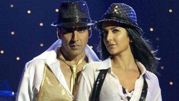 Akshay Kumar and Katrina Kaif in a still from Tees Maar Khan.