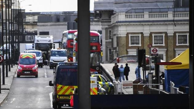 In February, two people were stabbed on a busy high street in the Streatham area of south London. In November last year, two people were killed in the London Bridge area. Image for representational purpose.(AP)