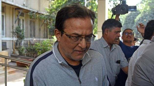 Rana Kapoor, the founder of Yes Bank, is pictured after his arrest in Mumbai on March 8, 2020.(AFP Photo)