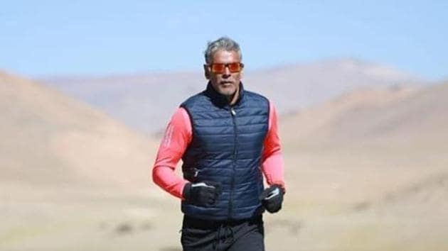 Milind Soman champions the cause of fitness.