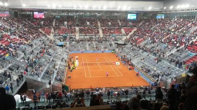 Tennis tournaments at all levels in Spain will be held behind closed doors(Twitter)
