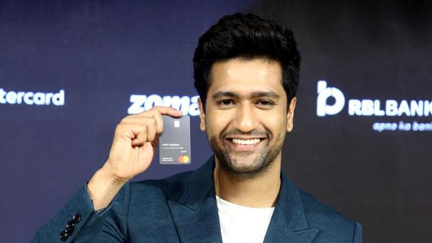 Vicky Kaushal at an event in New Delhi on Monday.(ANI)