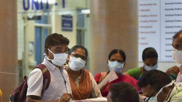 """As stated by the health ministry, a """"contact"""" in context of COVID-19 is anyone living in the same household as the infected.(PTI)"""