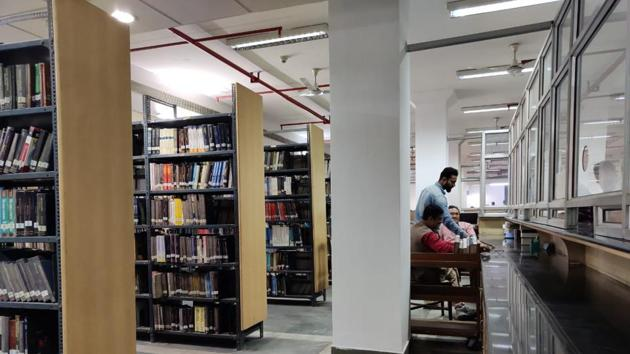 While several students were glad that Jamia's Zakir Husain Central Library was functional again, many were still hesitant to go back.(Sourced)