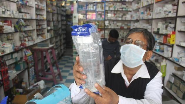 Coronavirus took second life in India on Friday(Yogendra Kumar/HT PHOTO)