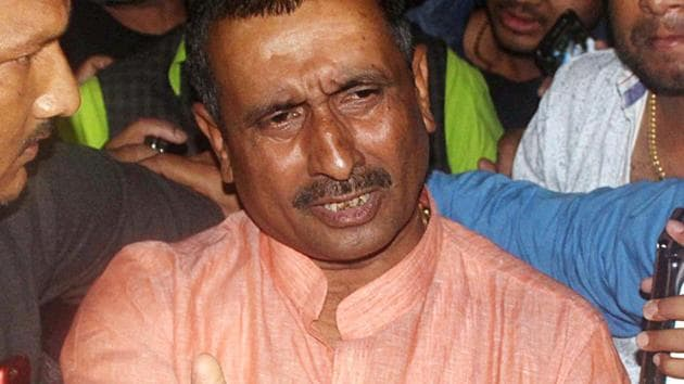 Kuldeep Sengar was on Friday sentenced to 10 years of imprisonment in connection with the murder of Unnao rape survivor's father.(ANI File Photo)