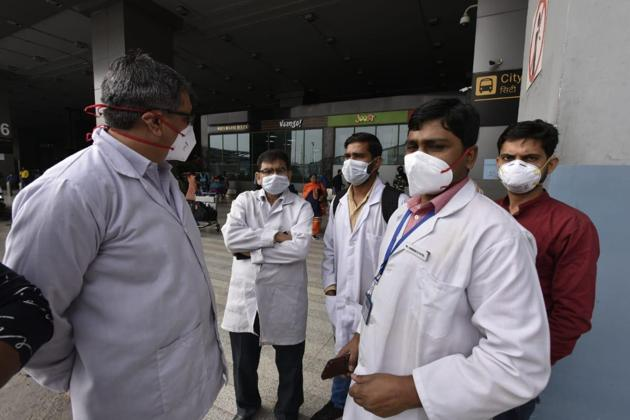 Centre declared coronavirus a national disaster in order to support funding for fighting the disease(HT Photo Sanjeev Verma)