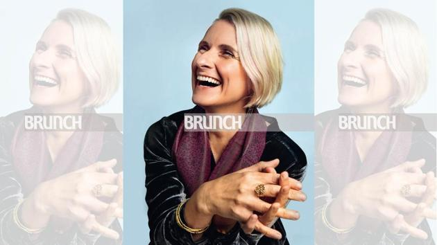 Elizabeth Gilbert was thrilled to be in India recently after 17 years. Location courtesy: Taj Palace, New Delhi; Art direction: Amit Malik and Veenu Singh; Make-up and hair: Artistry by Anjali Jain(Photos shot exclusively for HT Brunch by Shivamm Paathak)