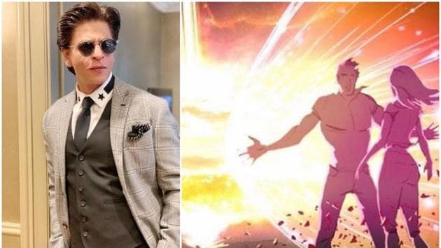 Shah Rukh Khan had reportedly shot for his portion in Brahmastra earlier this year.(Instagram)