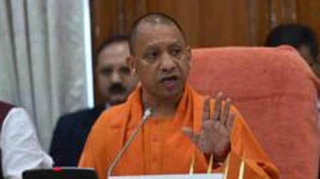 Chief minister Yogi Adityanath presided over the cabinet meeting that approved the Uttar Pradesh Recovery of Damage to Public and Private Properties Ordinance-2020 .(HT Photo)
