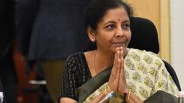 Union Finance Minister Nirmala Sitharaman.(PTI)
