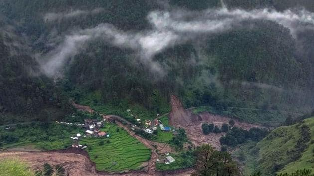 Cloudbursts and localised heavy rains are cause of heavy destruction of life and property in India(PTI Photo)