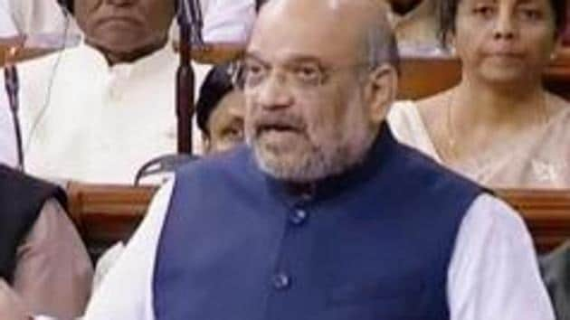 Union Home Minister Amit Shah in his interaction with a Jammu & Kashmir Apni Party (JKAP) delegation in New Delhi emphasised interests of all sections will be taken care of.(ANI)