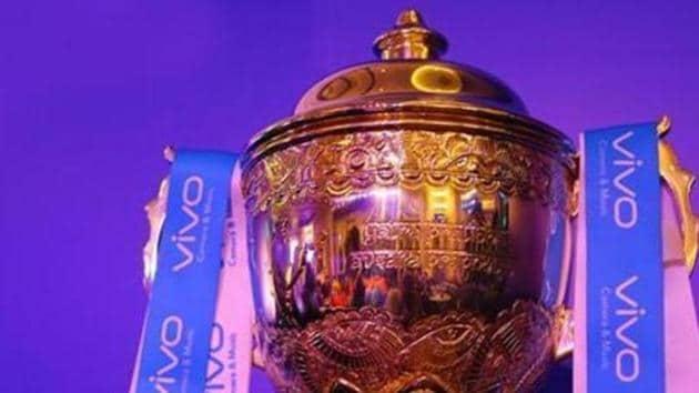 A file photo of the Indian Premier League (IPL) trophy.(IPL)