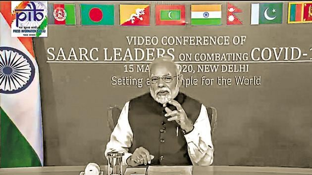 India's strategy of putting Saarc in deep freeze was based on isolating Pakistan and propping up Bimstec. Both have limits(PTI)