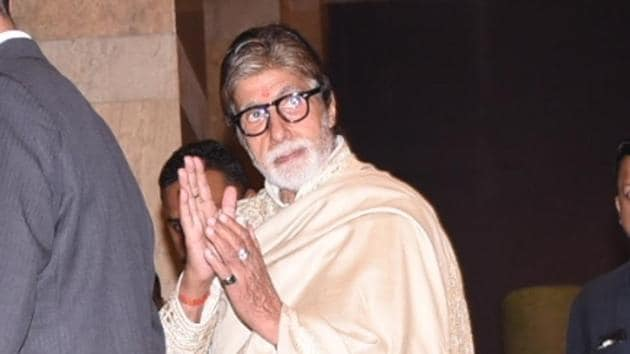 Amitabh Bachchan has written a thoughtful note on coronavirus outbreak.(IANS)