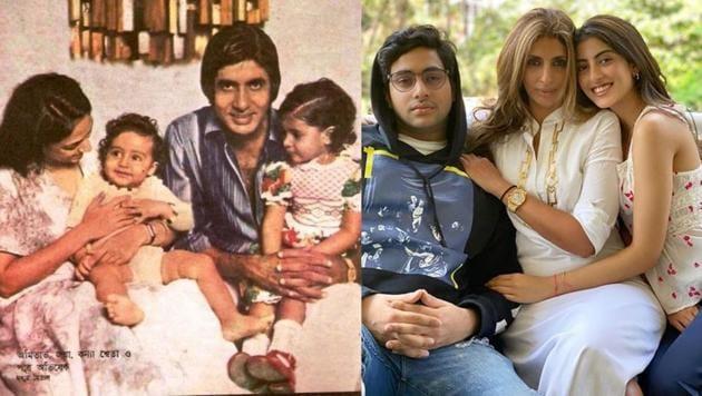 Shweta Bachchan turned 46 on Tuesday.