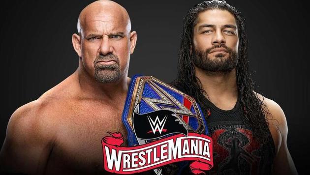 Goldberg vs Roman Reigns.(WWE)