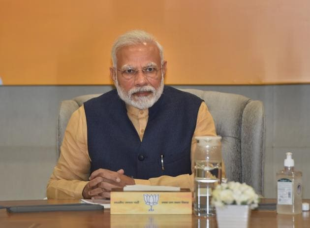 On Monday, Prime Minister Narendra Modi said people sharing their stories are 'boosting the morale' of those on the field fighting coronavirus.(PTI)