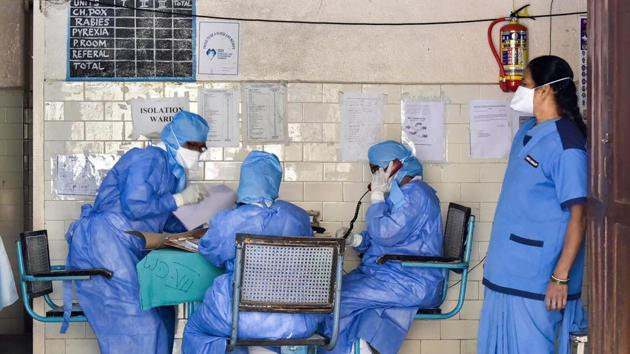 The 63-year-old doctor is among the two new cases of Covid-19 in Karnataka which now has 10 people who have tested positive for coronavirus.(PTI / Representational Photo)