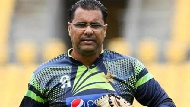 A file photo of former Pakistan cricketer Waqar Younis.(Getty Images)