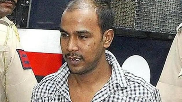 On Tuesday, the trial court had dismissed his plea and had asked the Bar Council of India to give appropriate sensitisation exercise to his counsel.(HT file photo of convict Mukesh Singh)