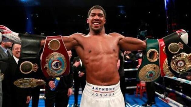 File image of pro boxer Anthony Joshua.(REUTERS)